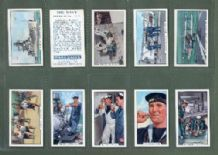 Cigarette cards  The Navy 1937  set of 48 complete